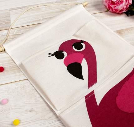 Кармашек подвесной водонепроницаемый «Фламинго», карман: 28,5 × 17 см Sima-Land