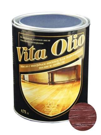 Масло Для полов и мебели Vita Olio Махагон 0,75 л. с воском