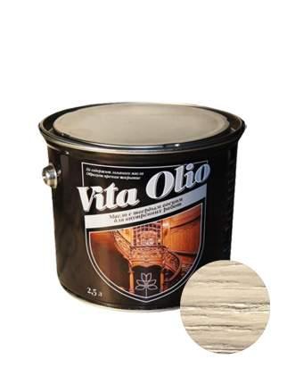 Масло Интерьерное Vita Olio Ясень оливковый 2,5 л. с воском