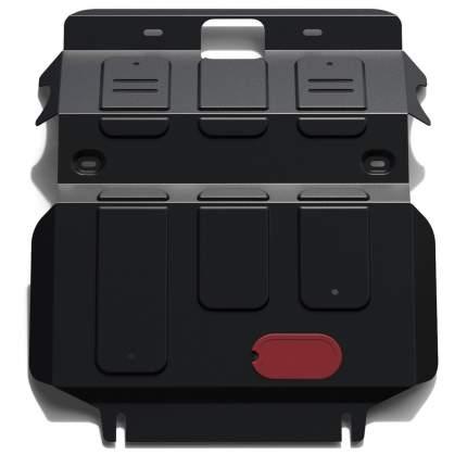 Защита радиатора и картера Автоброня Kia Sportage I 1993-2006, сталь 1.8 мм, 111.02825.1