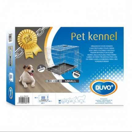 Клетка для собак Duvo+ Pet Kennel, 44x64x50см, 2 двери