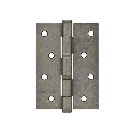 """Петля дверная универсальная НОРА-М 4""""-2ВВ (100*75*2,5) - Застаренное серебро"""