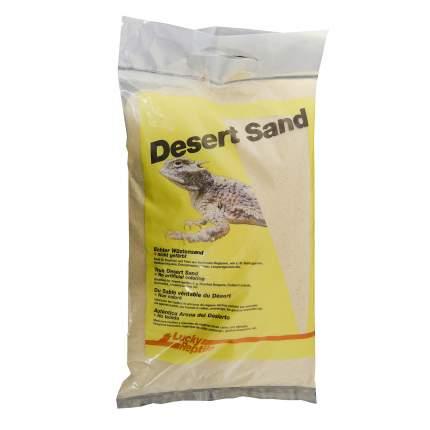 Натуральный песок для террариумов Lucky Reptile Sahara, белый, 5 кг, 1 л