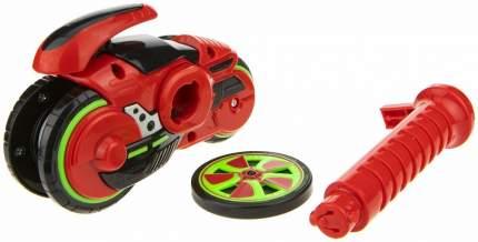 Мотоцикл с диском 1Toy Spin Racer Hot Wheels Огненный Фантом, 12 см