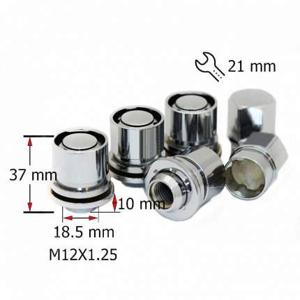 Комплект секреток гаек SDS Exclusive М12X1,25 37мм Пресс