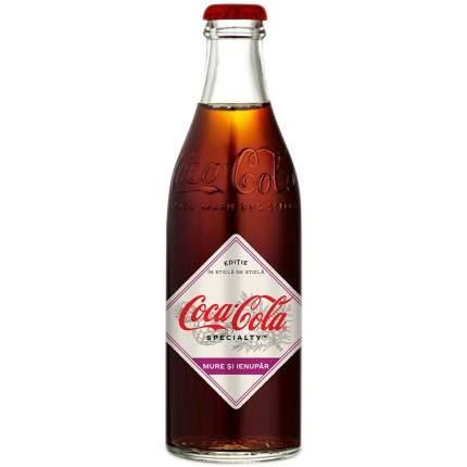 Напиток Coca-Cola  со вкусом Ежевики газ 250мл