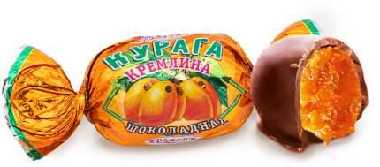 Конфеты Курага Кремлина шоколадная, п/п 600 г