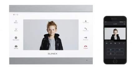 Видеодомофон Slinex SL-07IP Серебро + белый