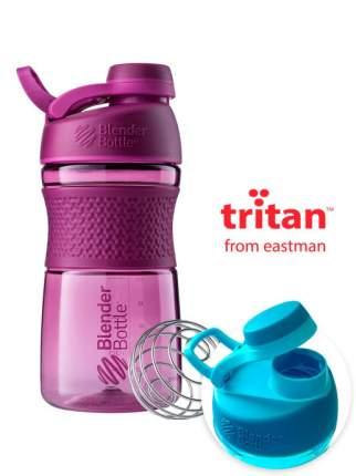 Шейкер BlenderBottle SportMixer Tritan Twist Cap 591 мл plum
