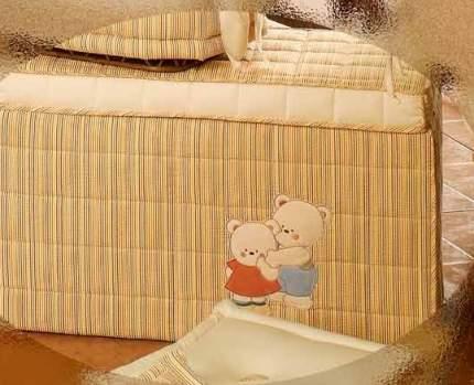 Корзина мягкая BabyPiu Биба Четыре времени года для игрушек 60.140RIGA