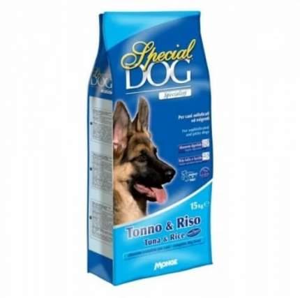 Сухой корм для собак Monge Special Dog, для чувствительных, тунец, рис, 15кг