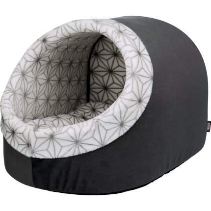 Домик для собак TRIXIE Diamond, пещера, антрацит/белый, 35x26x40 см