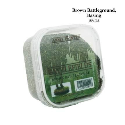 Аксессуар для моделирования Brown Battleground basing