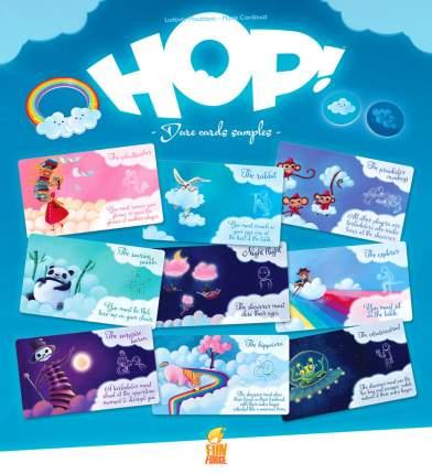 Настольная игра Hop!