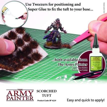 Аксессуар для моделирования Army Painter Battlefields: Scorched Tuft Обугленные травы