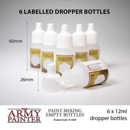 Бутылочки для красок Army Painter Paint Mixing Empty Bottles