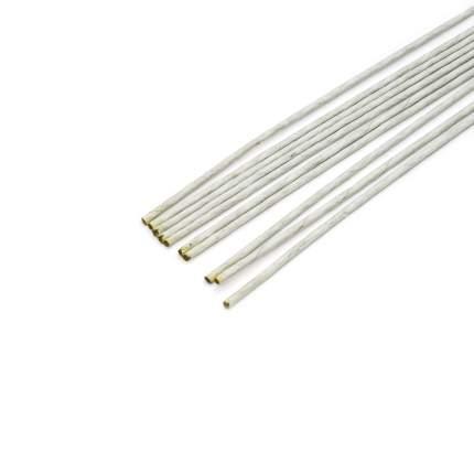 Проволока для флористики диам.3,00мм, 60 см, 10 шт. Астра (белый)