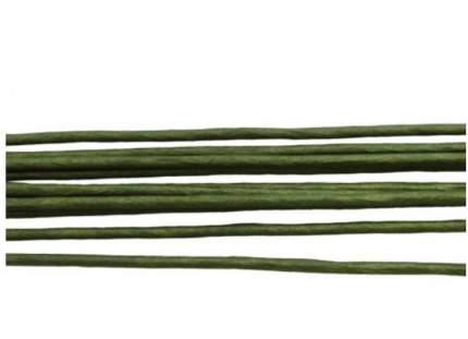 Проволока для флористики диам.2,00мм, 60 см, 10шт. Астра (зеленый)