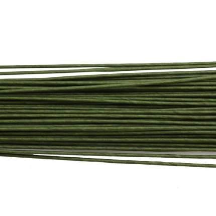 Проволока для флористики диам.1,60мм, 60 см, 50шт. Астра (зеленый)