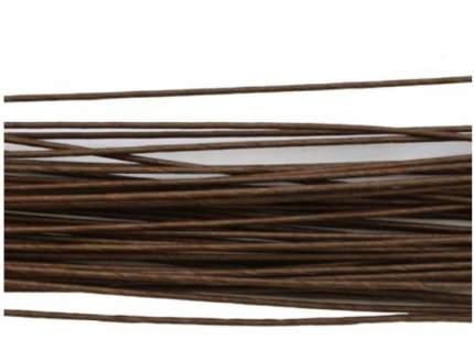 Проволока для флористики диам.1,20мм, 60 см, 50шт. Астра (коричневый)