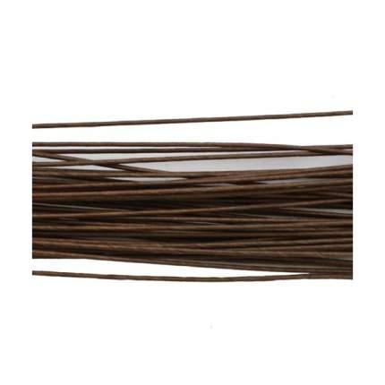 Проволока для флористики диам.0,80мм, 60 см, 50шт. Астра (коричневый)