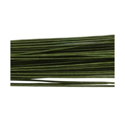 Проволока для флористики диам.0,80мм, 60 см, 50шт. Астра (зеленый)