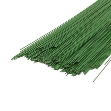 Проволока для флористики диам.1,20мм, 60 см, 50шт. Астра (зеленый)