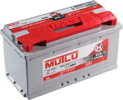 Аккумулятор MUTLU Mega Calcium 100R 830A 353x175x190