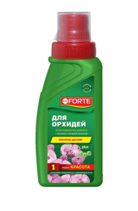 Минеральное удобрение комплексное Bona Forte 215217 BF21010211 для орхидей 285 мл