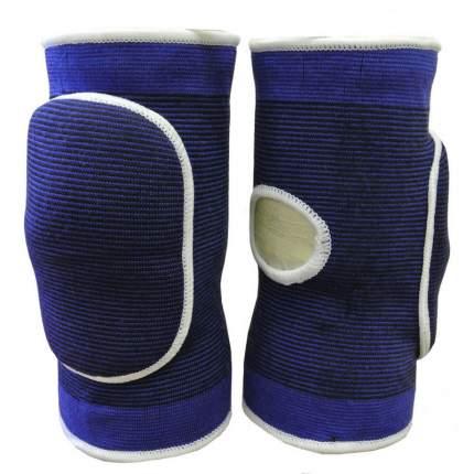 NK-402-  S Наколенники волейбольные с дыркой (Синий/Белый) р. S