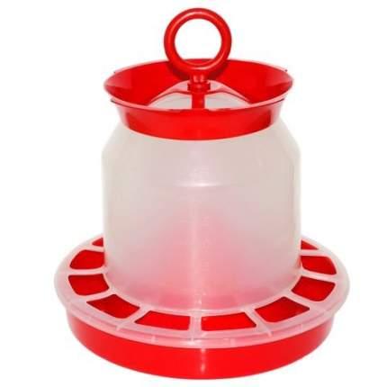 Кормушка бункерная для кур Милих 5 кг, пластик
