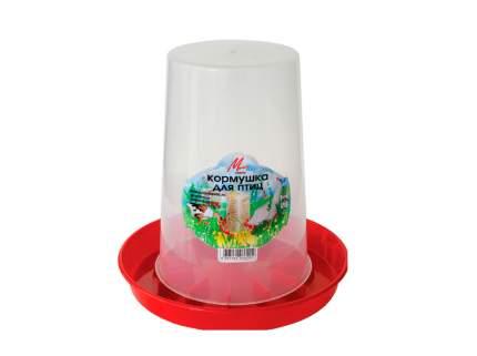 Кормушка бункерная для кур Милих 3 кг, пластик