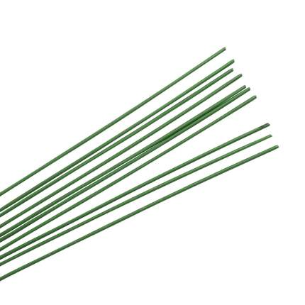 62220083 Проволока для флористики, зеленый цв. 1,50мм, 40см, 10шт Glorex