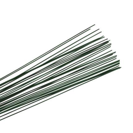 62220082 Проволока для флористики, зеленый цв. 0,80мм, 40см, 35шт Glorex