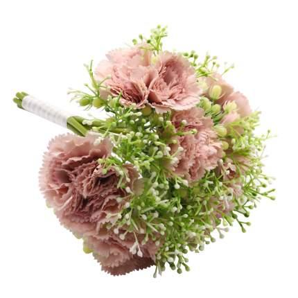 HY125-36027 Букетик гвоздик (7шт), 29см (A Лавандово-розовый)