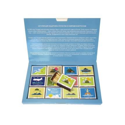 Спички сувенирные бытовые Красный Маяк 1 40 шт в упаковке