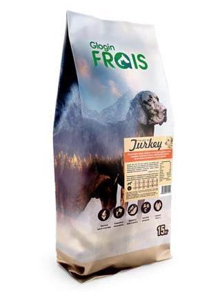 Сухой корм для собак FRAIS Adult Dog Turkey, для средних и крупных пород, индейка, 15кг