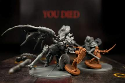 Настольная игра Steamforged Games Dark Souls: The Board Game