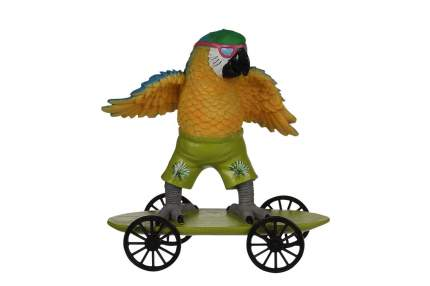 Декоративная фигурка Hoff Попугай на скейте