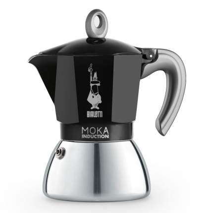 Гейзерная кофеварка Bialetti Moka Induction NEW черная 6 порций