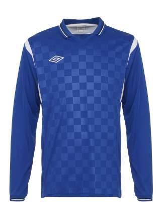 Футболка футбольная Umbro Westham Jersey L/S, синяя, XL