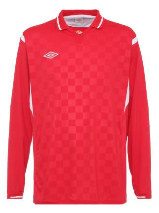 Футболка футбольная Umbro Westham Jersey L/S, красная, XL