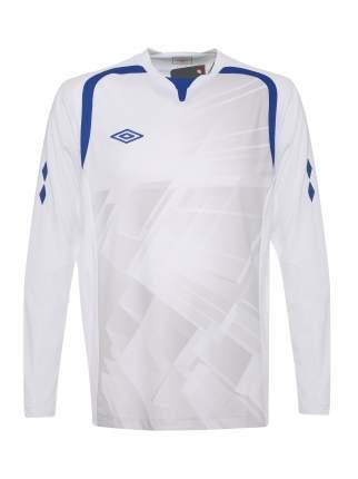 Футболка футбольная Umbro Ireland Jersey L/S, белая, XL