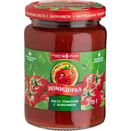 Паста томатная Помидорка с базиликом 270г