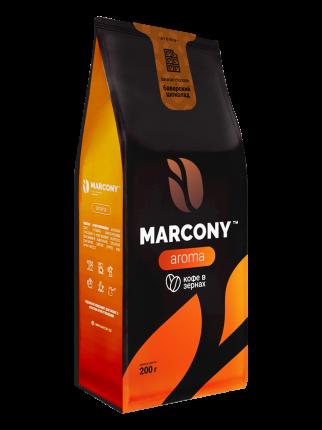 Кофе в зернах Marcony Aroma Баварский шоколад 200г