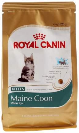 Сухой корм для котят ROYAL CANIN Maine Coon Kitten, мейн-кун, домашняя птица, 0,4кг