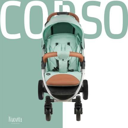 Прогулочная коляска Nuovita Corso олива - серебристый