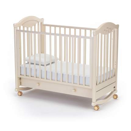 Кроватка Nuovita Lusso Dondolo колесо-качалка avorio слоновая кость