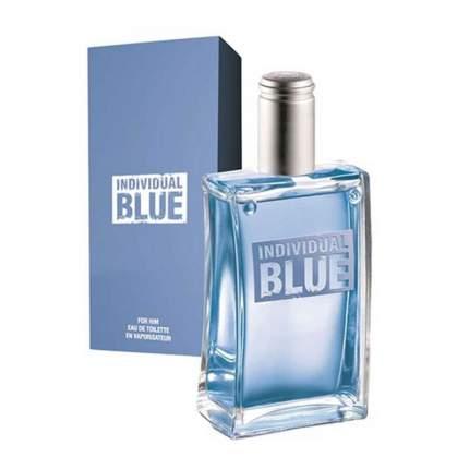 """Мужская туалетная вода """"Individual Blue"""", 100мл"""
