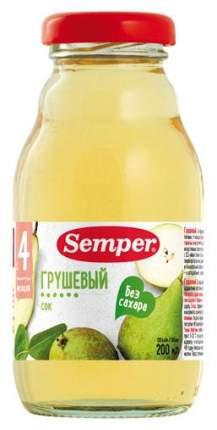 Сок Semper Грушевый б/с с 4 мес 0,2 л